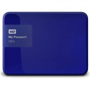 Hard disk extern Western Digital My Passport Ultra 2TB 2.5 inch USB 3.0 Blue Hardware Encryption