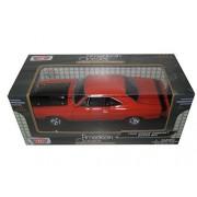 1969 Dodge Coronet Super Bee Orange 1/24 By Motormax 73315