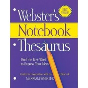 Webster's Notebook Thesaurus by Merriam-Webster