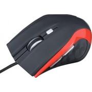 Mouse Modecom MC-M5 Optic 2400dpi Negru cu Rosu