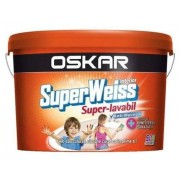 Vopsea lavabila OSKAR SuperWeiss Anti-Mucegai