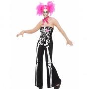 Skelet dames kostuum