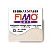 WDK PARTNER - A0500965 - Loisirs créatifs - Pâte à modeler soft Fimo - Blanc pailleté