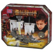 Disneys Pirates of the Caribbean At Worlds End Flagship Battlers Flying Dutchman Mega Bloks 1070 by Disney