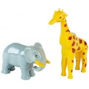 Klein Manetico Puzzle Animali Di Safari (Giraffa + Elefante) 76