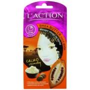 L'ACTION Shea Butter Face Mask maseczka do twarzy z maslem shea 6g