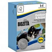Bozita Feline в опаковка Tetra Recart 6 x 190 г - diet & stomach - sensitive