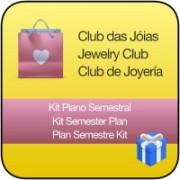 Plano de Assinatura Semestral Pague R$ 90,00 Escolha R$ 100,00 em Jóias ou Semi-jóias