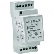 Elektronikus DIN sínre szerelhető dimmer, fehér, 40-300W, DS 400 B (609676)