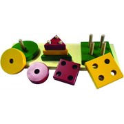 Kinder Creative Shapes and Sizes Exploration Board, Brown