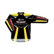 Dres WIND Raceware Elite černý MX ENDURO