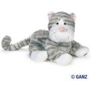 Webkinz Sterling Cheeky Cat with Trading Cards
