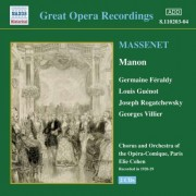 J. Massenet - Manon (0636943120323) (2 CD)