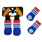 Mini calzini MARINAIO per cane/gatto con antiscivolo