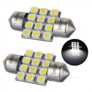 Festoon 31mm 3W LED luz de lectura para coches