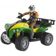 Bruder - 63000 - Figurine - Quad avec Personnage