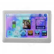 """""""T13 4.3"""""""" Touch Screen TFT HD MP4 / MP5 Player with TV Out / FM / - White (640 x 480 / 4GB)"""""""