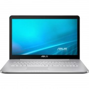 Laptop Asus N752VX-GC105D 17.3 inch Full HD Intel Core i7-6700HQ 8GB DDR4 1TB HDD nVidia GeForce GTX 950M 4GB Grey
