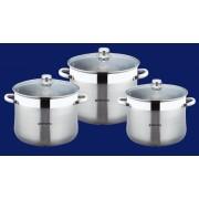 Oale inox - set 6 piese - BH 3475