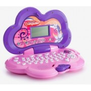 Adorable Flower Shaped & Molded Intellective Computer For Girls Functionally & Fun Loaded With 25 Activities Beautifully Molded & Colorful Design (Word Lessons, Music Lessons, Letters, Math, & Games)