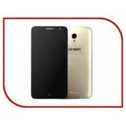 Сотовый телефон Alcatel OneTouch 5056D Pop 4 Plus Metal Gold