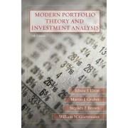 Modern Portfolio Theory and Investment Analysis by Edwin J. Elton