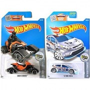 Snow Stormers Hot Wheels Exclusive Zamac Ford Fiesta & 2016 Snow Stormer Arctic Mountain Set in PROTECTIVE CASES