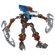LEGO Bionicle VAHKI Figure #8617 Zadakh (Dark Blue)