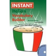 Instant Italian Vocabulary Builder by Tom Means