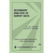 Secondary Analysis of Survey Data by K. Jill Kiecolt