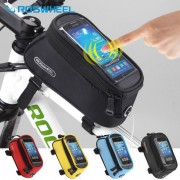 Roswheel Bicycle Front Bag Mountain Bike Accessories Bicycle Pannier Sports Bike Phone MTB Cycling Bag