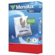Menalux 3201, 5 Sacchetti per aspirapolvere Nilfisk