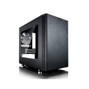 Fractal Design FD-CA-DEF-NANO-S-BK-W Define Nano S Window Case per PC, Nero