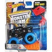 2016 Hot Wheels Monster Jam Color Treads #2 - Son Uva Digger [BLUE TIRES] - CHASE!