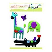 BabyToLove Stickers Muraux - Stickers Tissu - Jungle Pop
