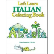 Lets Learn Italian Coloring Book by McGraw-Hill Education