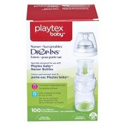 Playtex Drop-Ins Bottle Liners 120ml 100 Count, 120ml