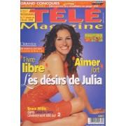 Télé Magazine / 25-01-2004 N° 2517 : Julia Roberts (3p) - Noami Watts (1p) - Bruce Willis (1p) - Robert De Niro (3/4p) - Richard Bohringer (1/2p)