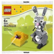 LEGO Seasonal 40053: Easter Bunny with Basket set (Bagged)