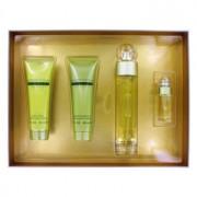 Perry Ellis Reserve Eau De Toilette Spray + After Shave Balm + Deodorant Stick + Mini EDT Spray Gift Set 463951