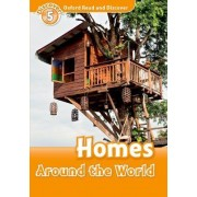 Oxford Read and Discover: Level 5: Homes Around the World by Jacqueline Martin