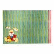 Kindertapijt Semmel Bunny - groen - 133x200cm, Sigikid