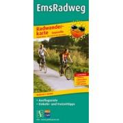 Fietskaart Emsradweg   Publicpress