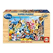 "Educa Borras 12002 ""The Wonderful World of Disney"" Puzzle (100-Piece)"
