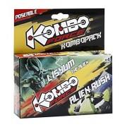 Giochi Preziosi - KomboForce, Personaggio Mix & Match Lysium con Veicolo Alien Rush, Multicolore