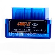 draagbare mini v1.5 elm327 obd2 / obdii bluetooth auto auto-scanner diagnostisch hulpmiddel voor android