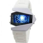 Led biele hodinky