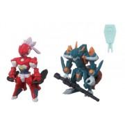 The Little Battlers - Lbx Battle Custom Figure Set Lbx Pandora(Ami) & Lbx Fenrir (Completed Figures Set)