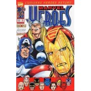 "[ L'univers "" Heroes Return "" ] Iron Man + The Avengers + Thunderbolts : Marvel Heroes N° 5 ( Mai 2001 ) : "" Le Chant Funèbre De Kulan Gath """