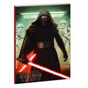 Star Wars füzet, B/5 17x25cm, vonalas, 40 lapos
